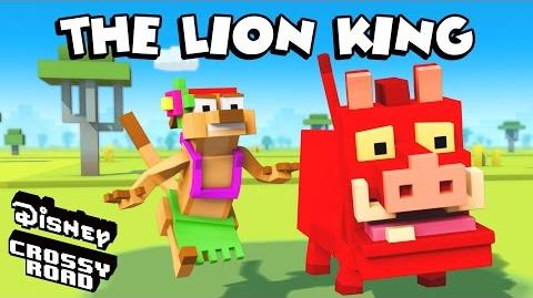 Disney Crossy Road The Animated Series Timon and Pumbaa