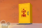 In Case of Fire closet