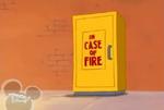 In Case of Fire closet