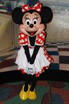 Minnie Mouse at Character Breakfast Inn