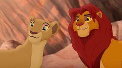 Nala and Simba TLG