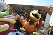 Slinky Dog Zig Zag Spin at Walt Disney Studios Park France