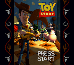 Toy Story SNES Title Screen