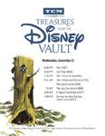 Treasures from The Disney Vault December 2016 Schedule