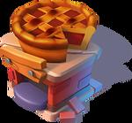 Bc-burnt pie stand