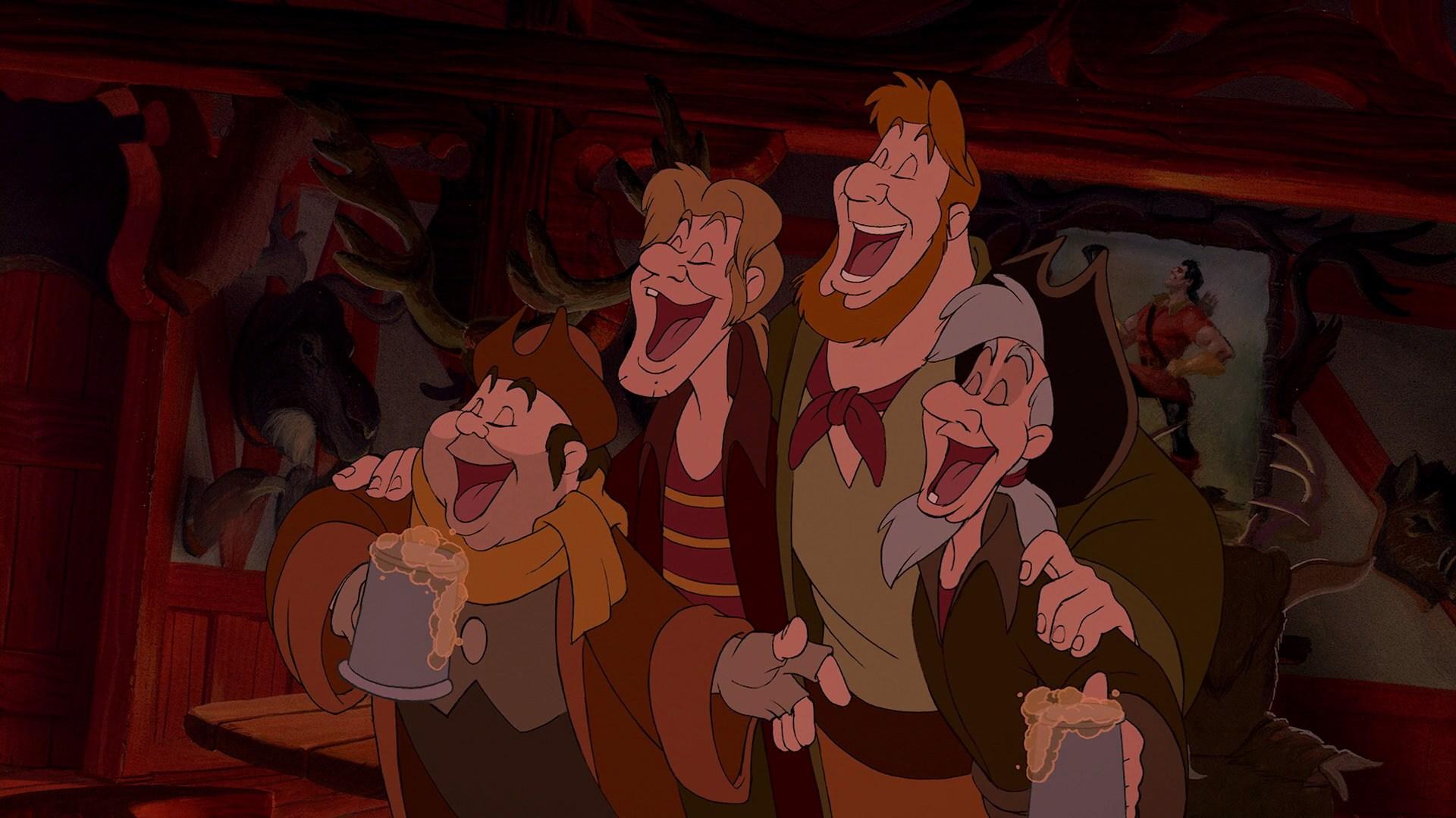 Gaston S Buddies Disney Wiki Fandom Powered By Wikia