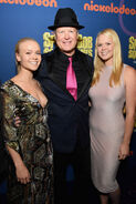 Bill Faggerbakke with Carson and Hannah
