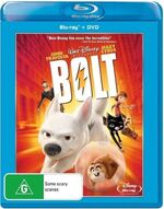 Bolt 2009 AUS Blu Ray + DVD