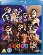 Coco Blu-Ray UK