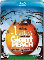 James and the Giant Peach 2010 Japan Blu-Ray