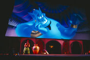 Magic Lamp Theater Genie