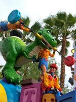 Nick Petronzio Sculpted T-Rex Disney