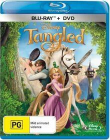 Tangled 2011 AUS Blu Ray + DVD