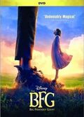 The BFG DVD cover