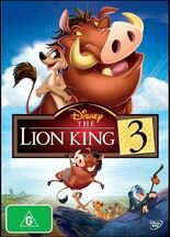 The Lion King 3 2015 AUS DVD