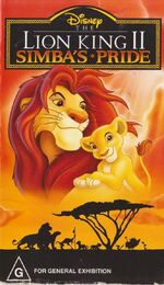 The Lion King II 1998 AUS