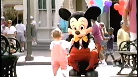 Walt Disney World 25th Anniversary (1996) Promo (VHS Capture)