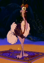 Abú avestruz