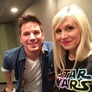 Ashley Eckstein Matt Lanter SW