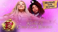 Audrey's Christmas Rewind ❄️ Behind the Scenes Descendants 3