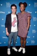 Ben Feldman & Aisha Tyler D23 Expo19