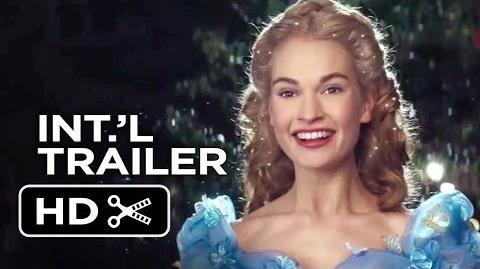 Cinderella Official International Trailer 1 (2015) - Helena Bonham Carter, Lily James Movie HD