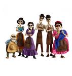 Coco Skeleton Family