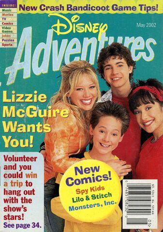File:Disney Adventures Magazine cover May 2002 Lizzie McGuire.jpg