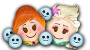 Frozen Fever as told by Emoji Disney