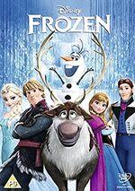 Frozen UK DVD