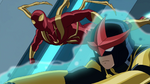Iron Spider & Ultimate Nova USMWW