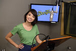 Kate Micucci DuckTales behind the scenes