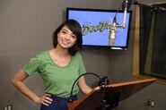 Kate Micucci DuckTales behind the scenes