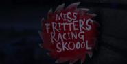Miss Fritters Racing Skoool - Card