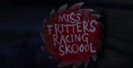 Miss Fritters Racing Skoool - Card