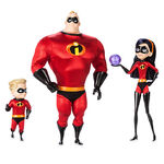 Mr Incredible, Violet, and Dash Limited Edition Doll Set