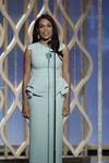 Rosario Dawson speaks at 70th Golden Globes