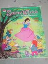 Snow white paper dolls