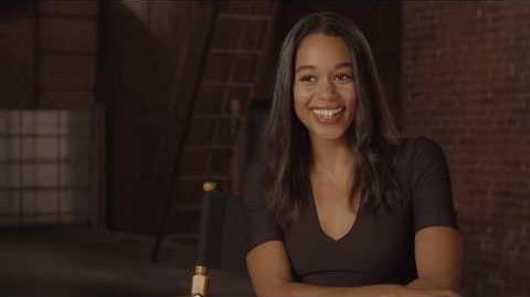 "Spider-Man Homecoming ""Liz Allan"" On Set Interview - Laura Harrier"