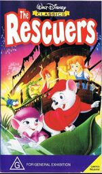 The Rescuers 1997 AUS VHS