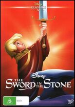 The Sword in the Stone 2016 AUS DVD