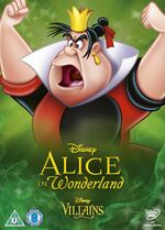 Alice in Wonderland Disney Villains 2014 UK DVD