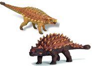 Ankylosaurus v saichania