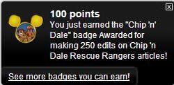 Chip 'n Dale Rescue Rangers Disney Wiki 250 Edits