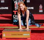 Jessica Chastain Chinese Theatre handprint ceremony