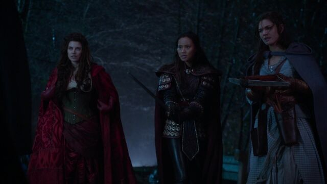 File:Once Upon a Time - 5x18 - Ruby Slippers - Ruby, Mulan and Dorothy.jpg
