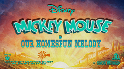 Our Homespun Melody Title Card