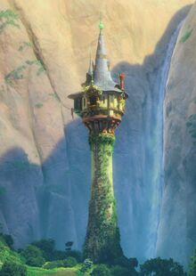 Tangled-Rapunzel-Tower