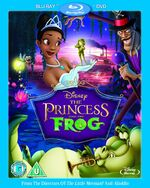 The Princess and the Frog 2010 Blu-ray Combi Pack