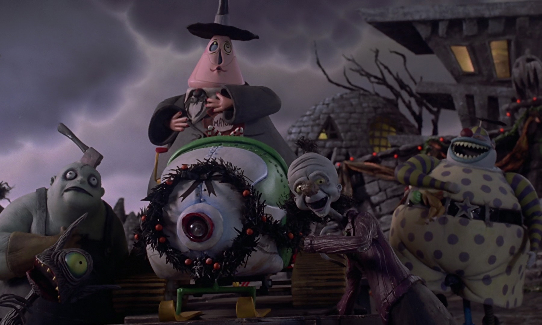 making christmas - Making Of Nightmare Before Christmas